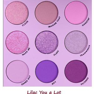 ColourPop Eyeshadow Palette LILAC YOU A LOT Purple